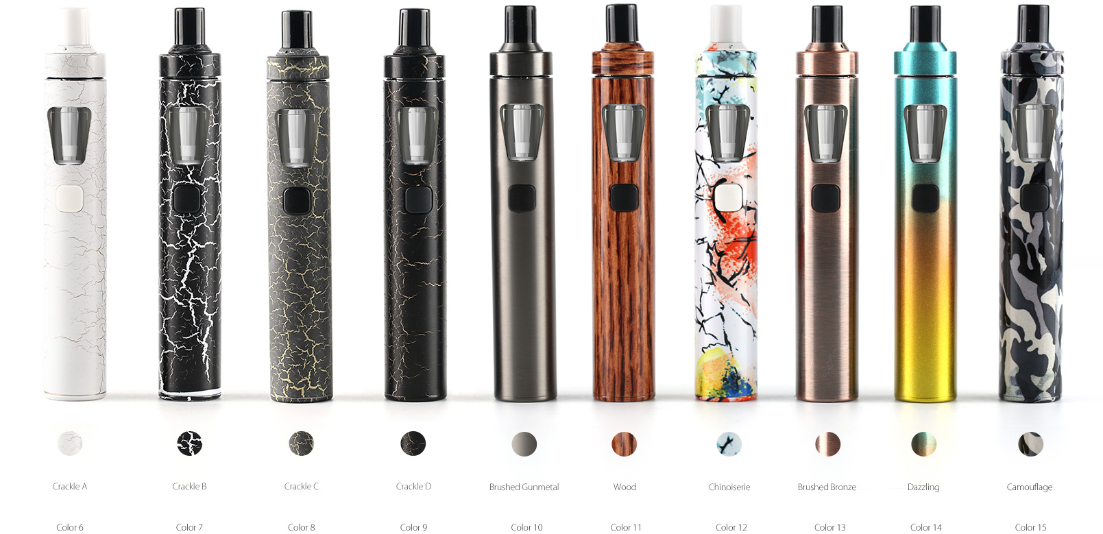 Joyetech eGo AIO 1500mAh Crackle-D 1ks