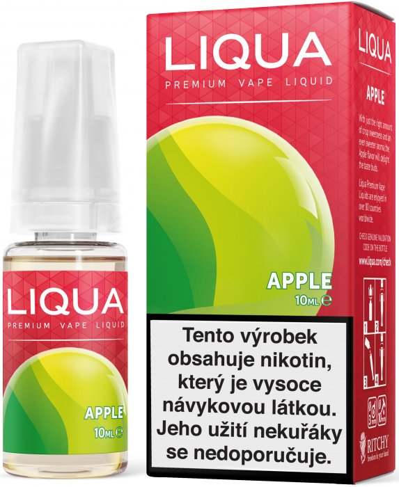LIQUA Elements Jablko 10ml 6mg