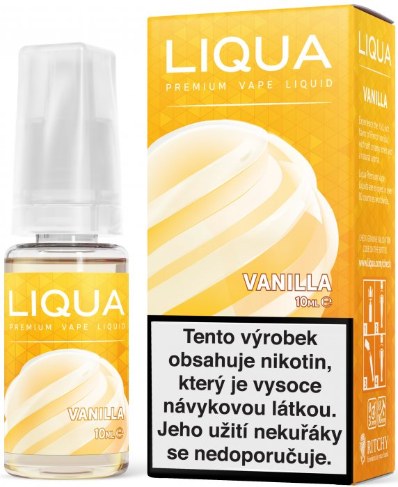 LIQUA Elements Vanilka 10ml 6mg