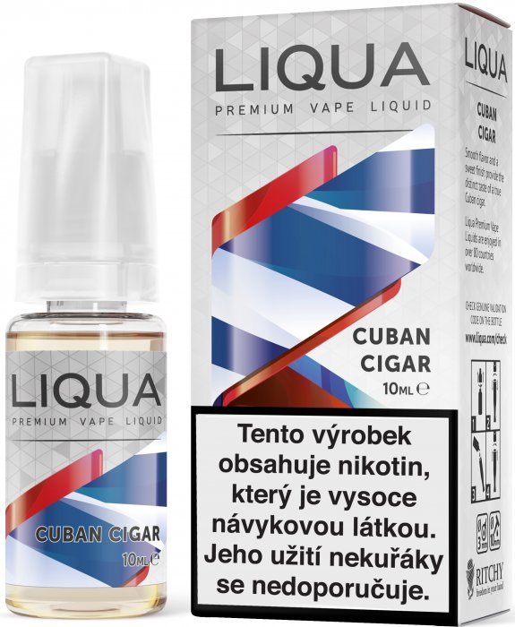 LIQUA Elements Kubánský doutník 10ml 18mg