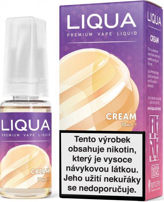 LIQUA Elements Smetana 10ml 6mg