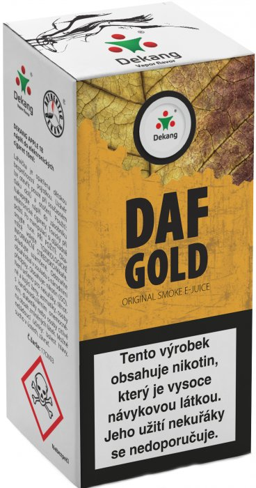 E-liquid Dekang DAF Gold 10ml 6mg