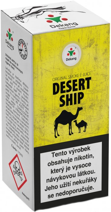 E-liquid Dekang Desert ship 10ml 6mg