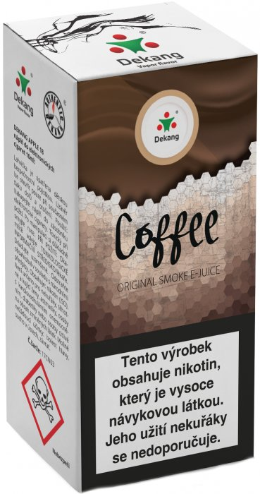 E-liquid Dekang Cofee 10ml 18mg (káva)