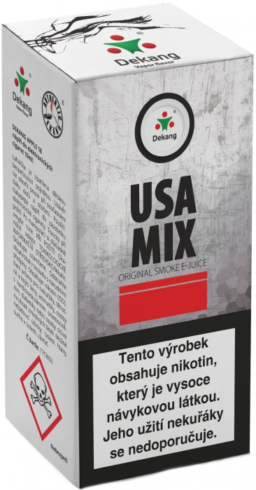 E-liquid Dekang USA Mix 10ml 6mg