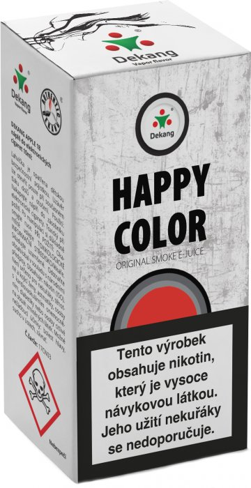 E-liquid Dekang Happy Color 10ml 6mg
