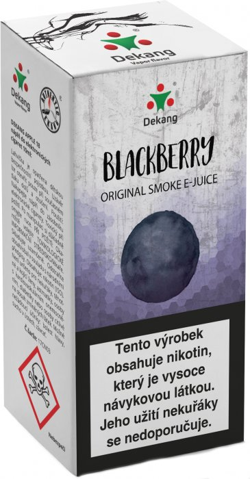 E-liquid Dekang Blackberry 10ml 11mg (ostružina)