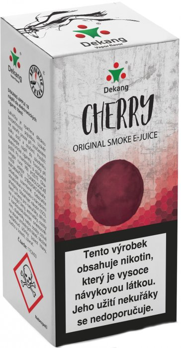 E-liquid Dekang Cherry 10ml 6mg (třešeň)