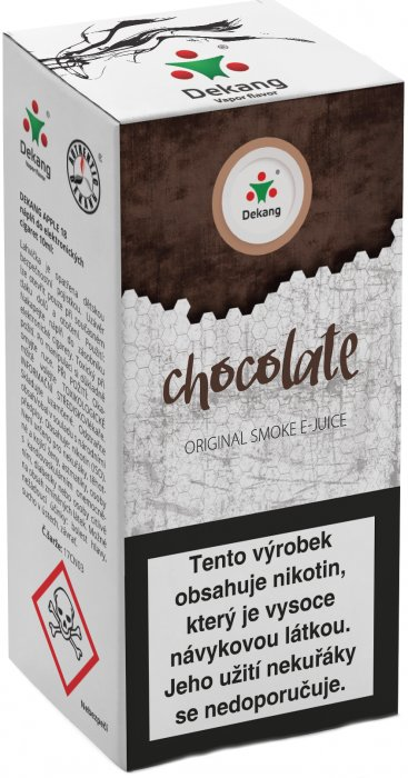 E-liquid Dekang Chocolate 10ml 6mg (čokoláda)