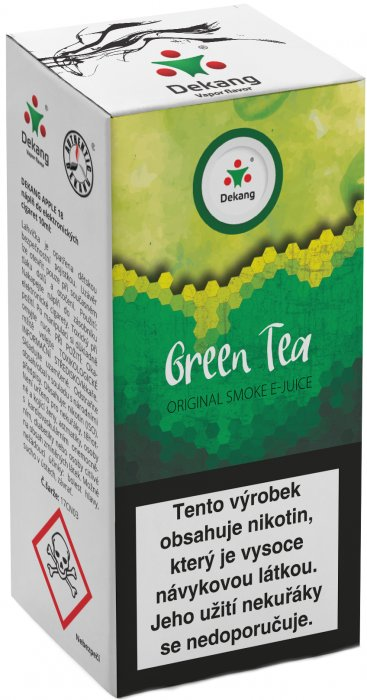 E-liquid Dekang Green Tea 10ml 6mg (zelený čaj)