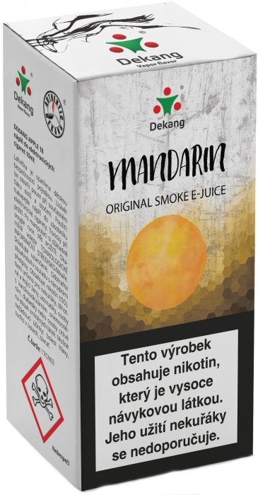E-liquid Dekang Mandarin 10ml 6mg (mandarinka)