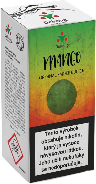 E-liquid Dekang Mango 10ml 6mg (mango)