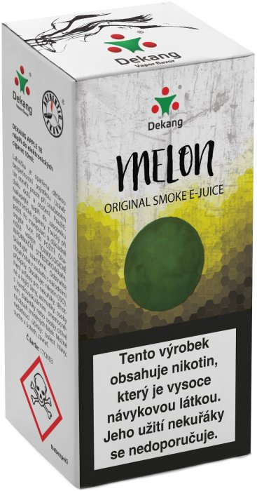 E-liquid Dekang Melon 10ml 6mg (žlutý meloun)