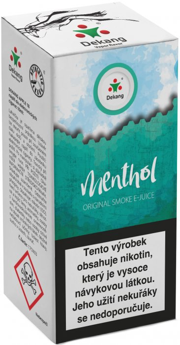 E-liquid Dekang Menthol 10ml 6mg (mentol)