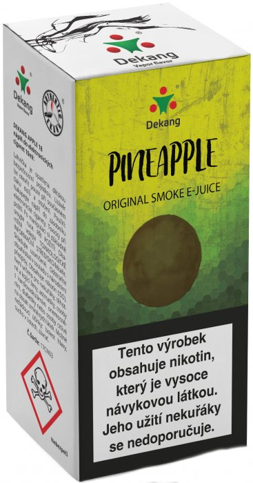 E-liquid Dekang Pineapple 10ml 6mg (ananas)