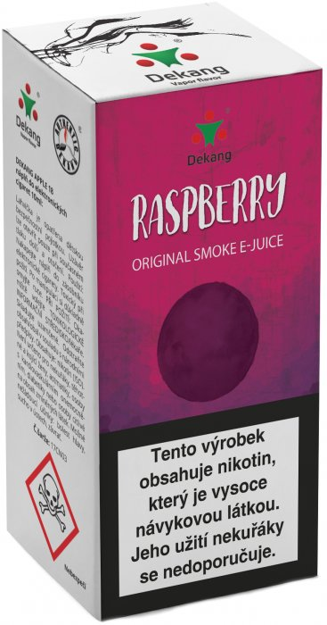 E-liquid Dekang Raspberry 10ml 6mg (malina)