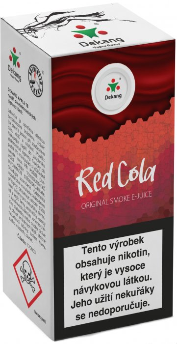 E-liquid Dekang Red Cola 10ml 6mg (kola)