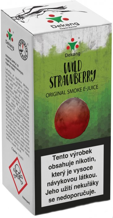 E-liquid Dekang Wild Strawberry 10ml 6mg (lesní jahoda)