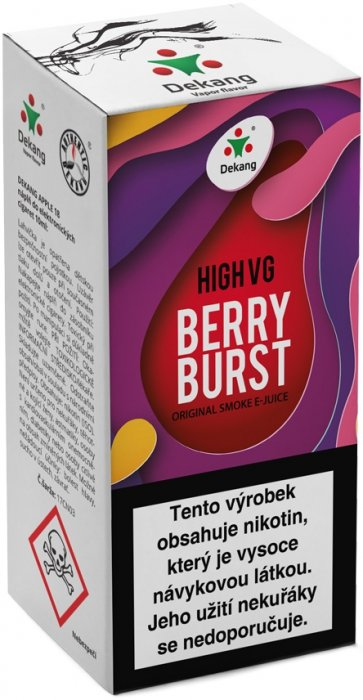 Dekang High VG Berry Burst 10ml 3mg (Lesní ovoce s jablkem)