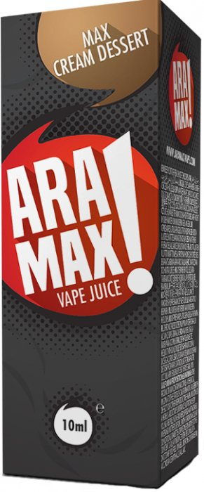 ARAMAX Max Cream Dessert 10ml 6mg