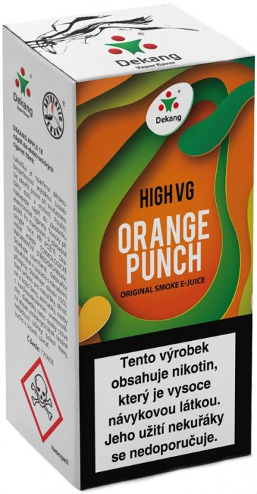 Dekang High VG Orange Punch 10ml 3mg (Sladký pomeranč)