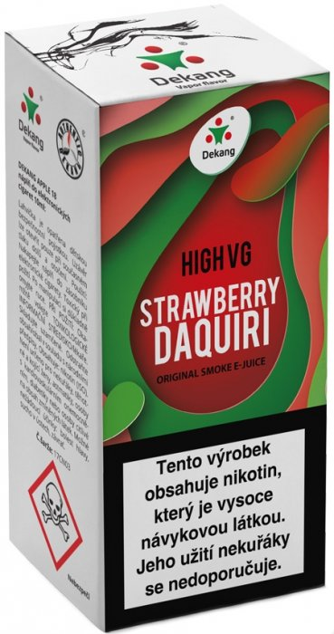 Dekang High VG Strawberry Daquiri 10ml 3mg