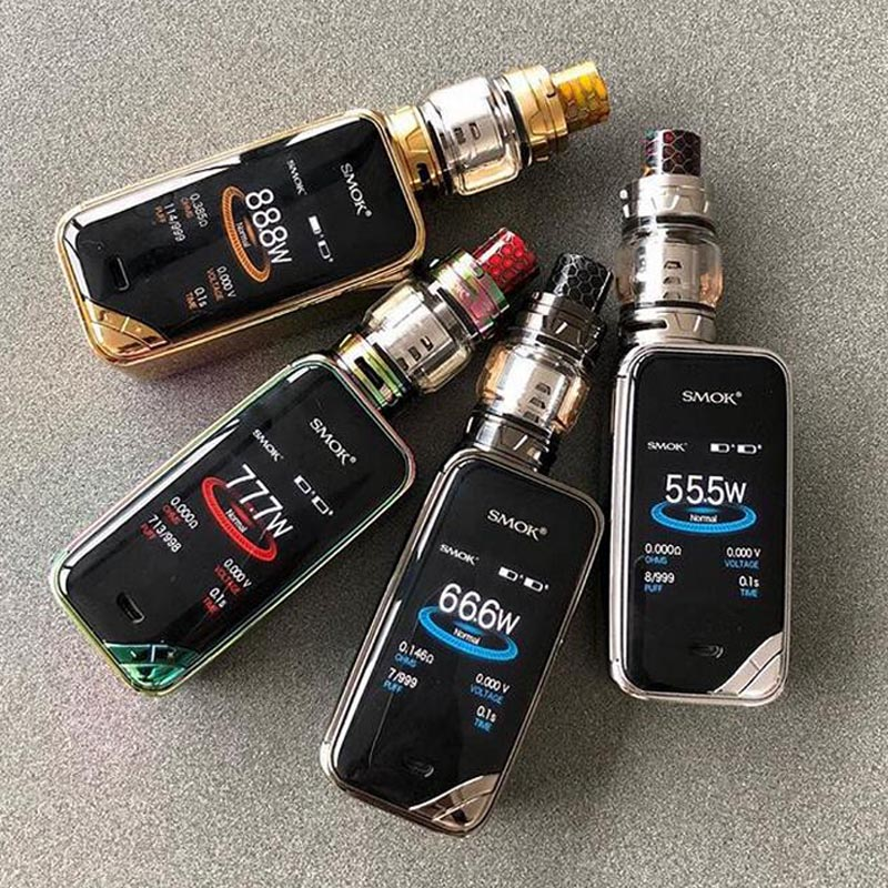 Smoktech X-Priv TC225W Grip Full Kit Prism Gun Metal 0 mAh 1 ks