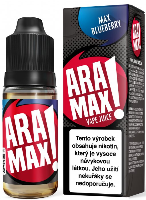 ARAMAX Max Blueberry 10ml 12mg