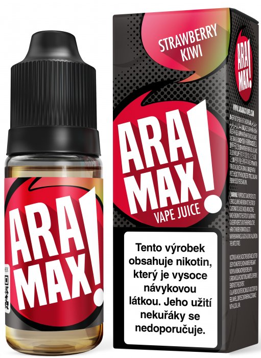 ARAMAX Strawberry Kiwi 10ml 12mg