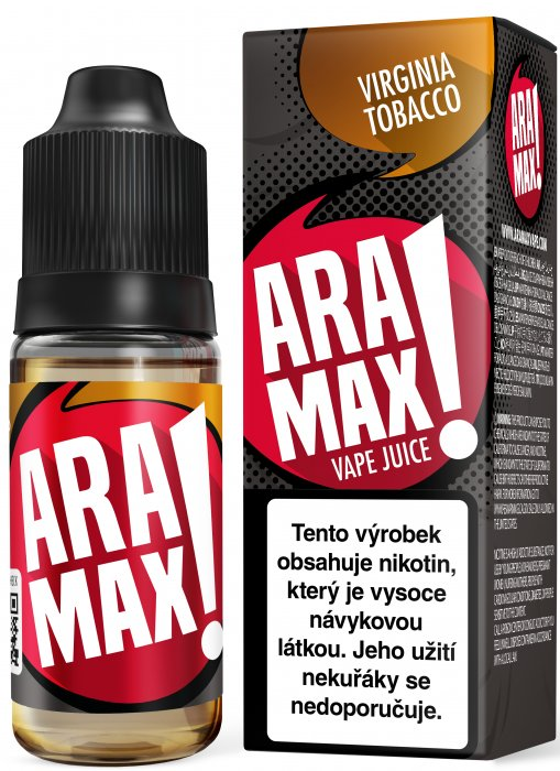 ARAMAX Virginia Tobacco 10ml 12mg