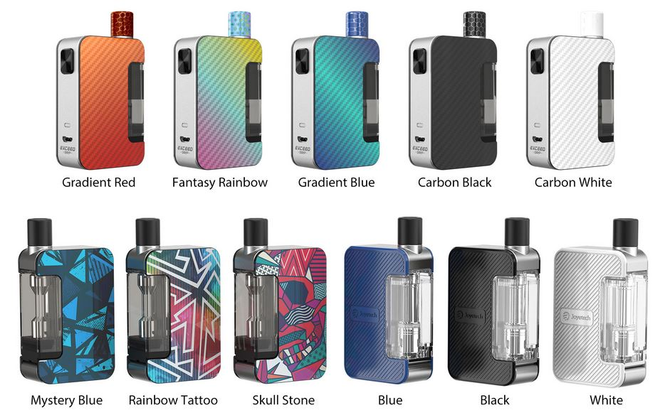 Joyetech Exceed Grip Full Kit 1000 mAh Mystery Blue 1 ks