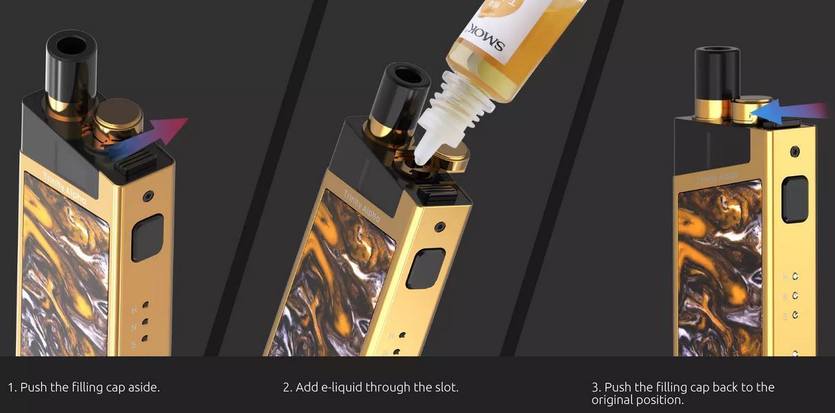 Smok TRINITY ALPHA Resin Pod sada 1000 mAh Prism Chrome 1 ks
