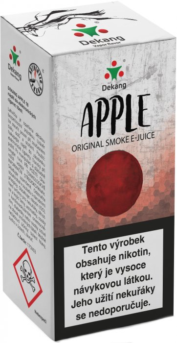 E-liquid Dekang Apple 10ml 3mg (jablko) po expiraci