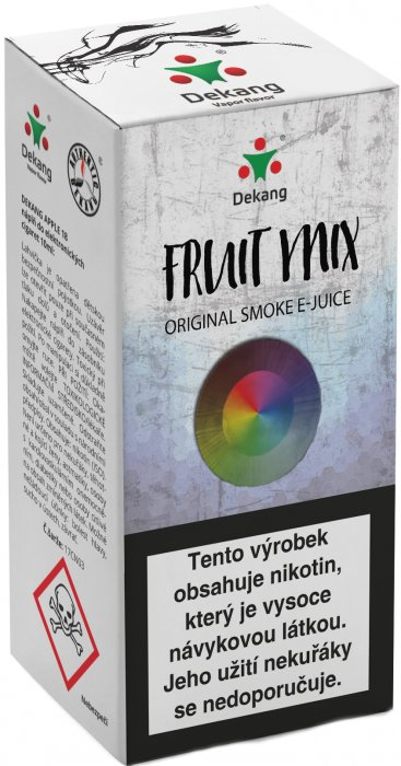 E-liquid Dekang Fruit Mix 10ml 3mg (ovocný mix) po expiraci
