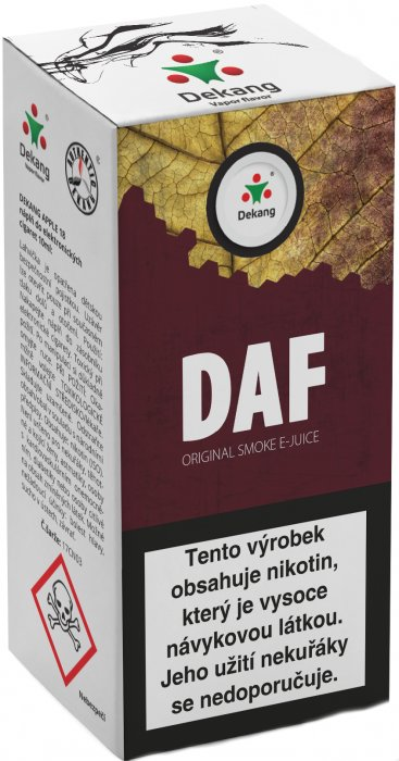 E-liquid Dekang DAF 10ml 3mg po expiraci