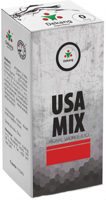 E-liquid Dekang USA Mix 10ml 0mg po expiraci