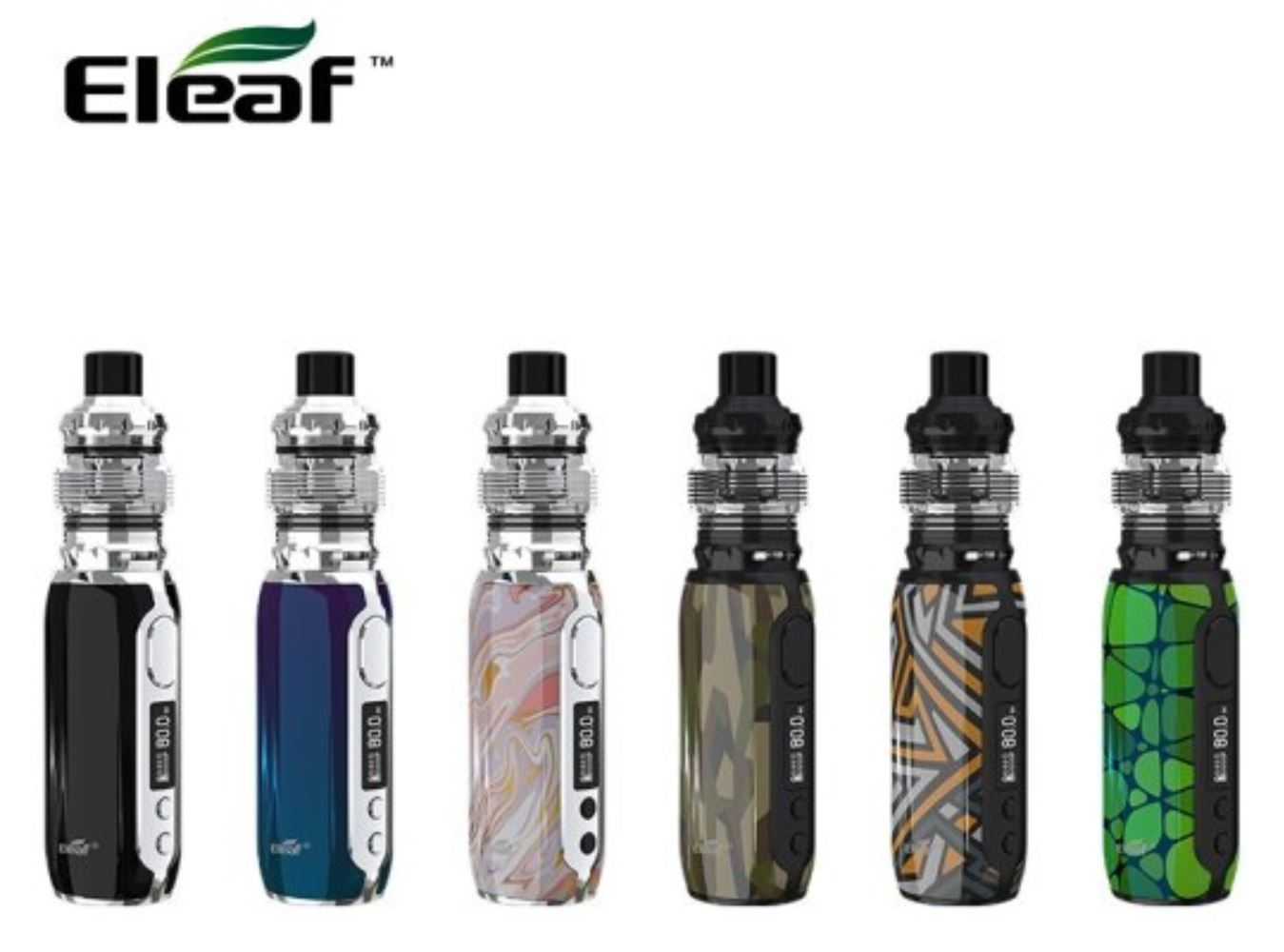 iSmoka-Eleaf iStick Rim Grip Full Kit 3000mAh Rainbow 1ks