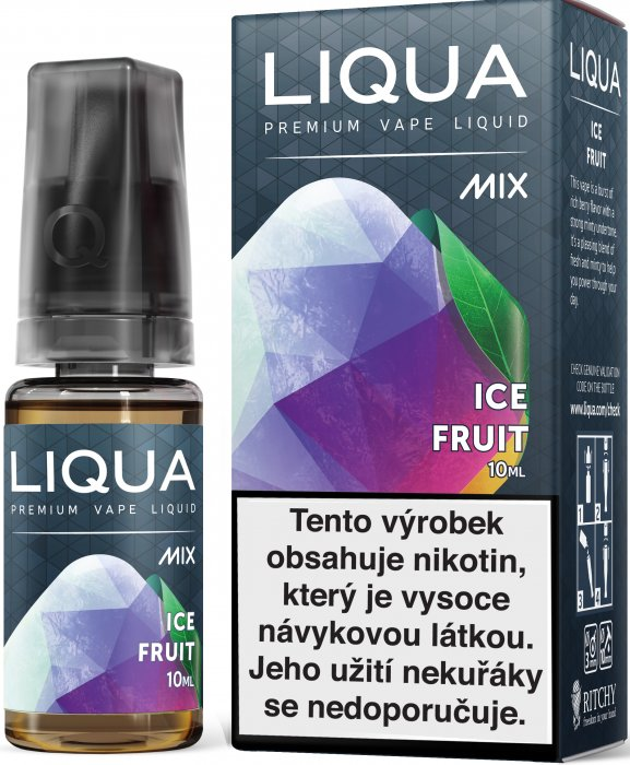 LIQUA MIX Ice Fruit 10ml 3mg po expiraci