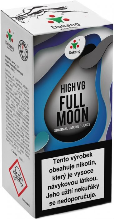 Dekang High VG Full Moon 10ml 0mg (Maracuja bonbon) po expiraci