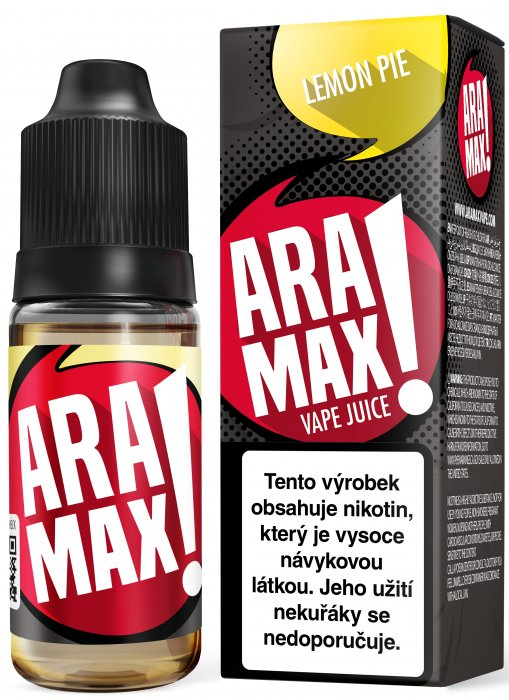 ARAMAX Lemon Pie 10ml 18mg po expiraci