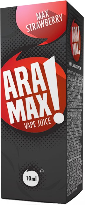 ARAMAX Max Strawberry 10ml 18mg po expiraci