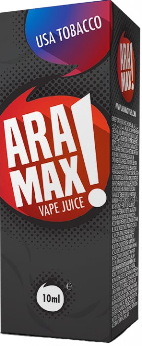 ARAMAX USA Tobacco 10ml 18mg po expiraci