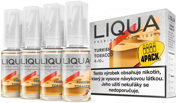 LIQUA Elements 4Pack Turkish tobacco 4x10ml-6mg (Turecký tabák)