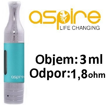 aSpire ET-S Victory BVC clearomizer 3ml Modrý