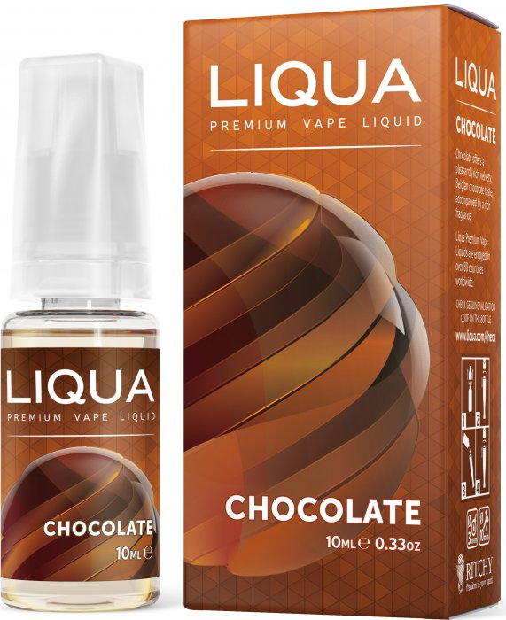 LIQUA Elements Čokoláda 10ml 0mg