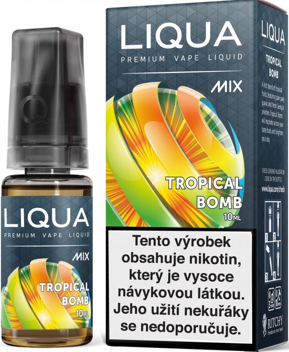 LIQUA MIX Tropical Bomb 10ml 0mg