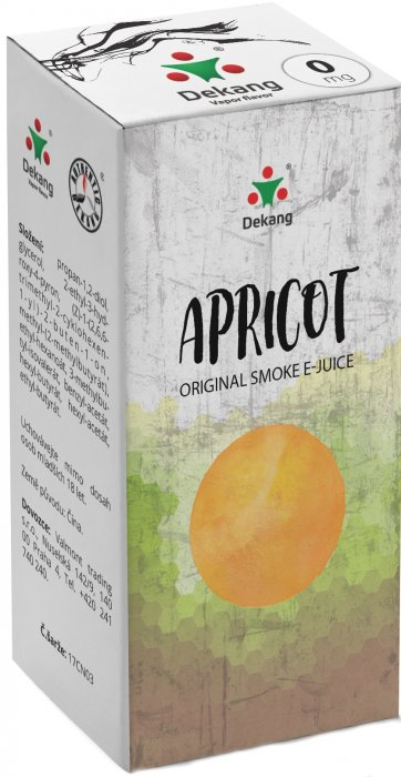 E-liquid Dekang Apricot 10ml 0mg (meruňka)