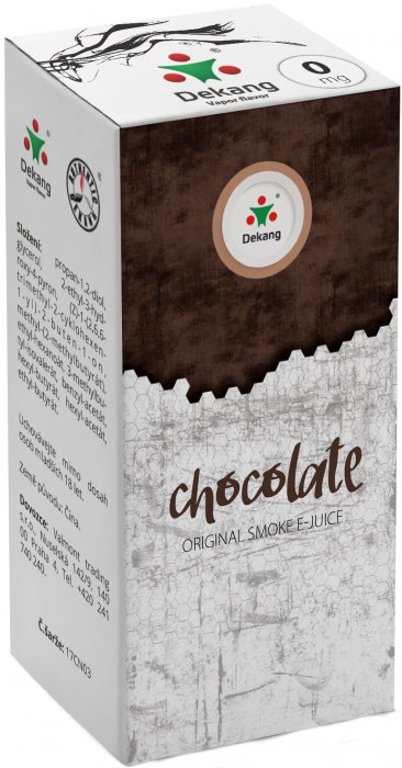 E-liquid Dekang Chocolate 10ml 0mg (čokoláda)