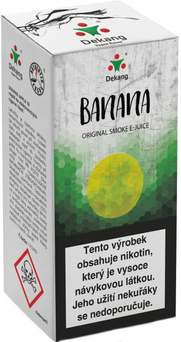 E-liquid Dekang Banan 10ml 18mg (banán)