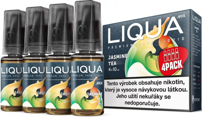 LIQUA MIX 4Pack Jasmine Tea 4x10ml-3mg